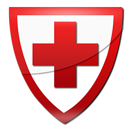 256x256 Red cross shield