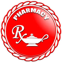 256x256 Pharmacy rx symbol clipart