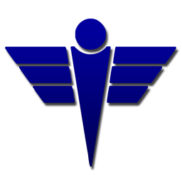 256x256 Simple medical caduceus