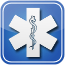 star of life symbol button