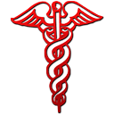 caduceus red gradient