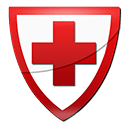 red cross shield
